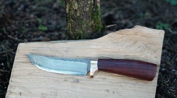 Ein wenig Messerarbeit